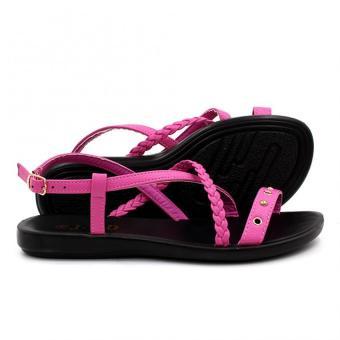 Tokyo Shoes Women's Selene Flat Sandals (Pink) - 3