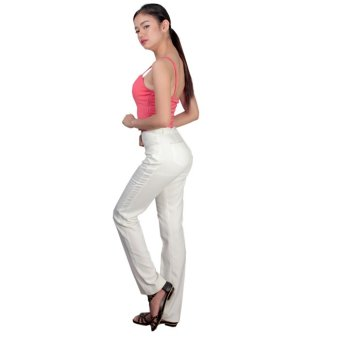 Tomboy And Company Ladies' Spring Pants (Ivory) - 3