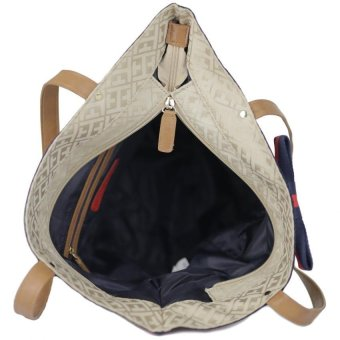 Tommy Hilfiger Bow Tote Bag (Champagne) - 4