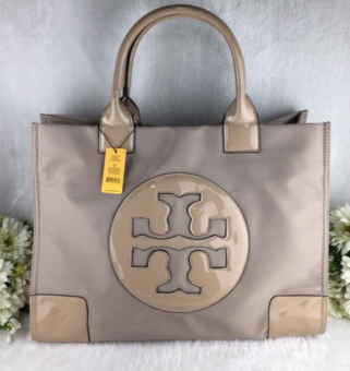 Tory Burch Ella Tote Bag Medium Beige Price Philippines