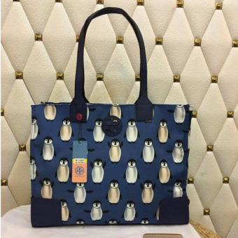 Tory Burch Penguin Overload Tote Bag Medium in Penguin
