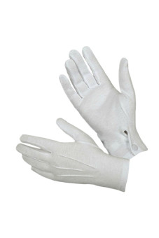 Tuxedo Formal Gloves Set (White)