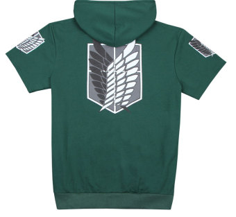 Ufosuit Attack on Titan Hoody (Green) - Intl