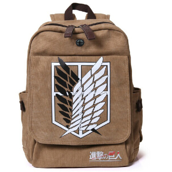 Ufosuit Attack on Titan Wings of Liberty Backpack (Brown)