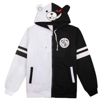 Ufosuit Game Danganronpa Monokuma Casual Jacket Coat For Unisex -intl