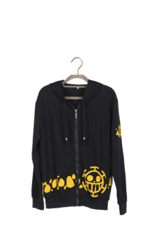 Ufosuit One Piece Heart Pirates Jacket (Black/Orange) - Intl