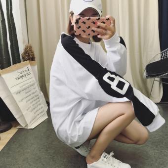 Ulzzang Korean-style female spring New style base shirt T-shirt