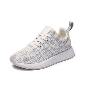 Ulzzang Korean-style New style students casual shoes sports shoes (Gray (A02 Standard Code))