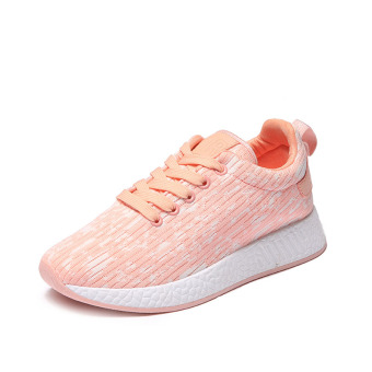Ulzzang Korean-style New style students casual shoes sports shoes (Pink (A02 Standard Code))