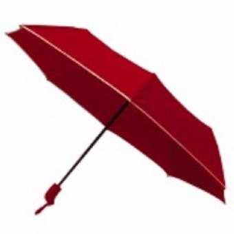 Umbrella Compact Automatic Open & Close Light Weight Anti-UVRain Sun Windproof Umbrella (Red) Price Philippines