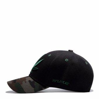 Unisex Men Women Hats Caps Baseball Cap Leisure Joker Sun Hat - intl - 2