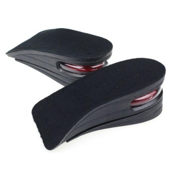 Unisex Shoe Insole 2-Layer Air Cushion Heel Increase 5cm TallerHeight - intl