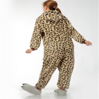 Unisex Women Men Adult Cosplay Costume Animal lovely Animal Sleepsuit Flannel Pajamas Winter Warm Sleepwear Costume Onesie - intl - 4