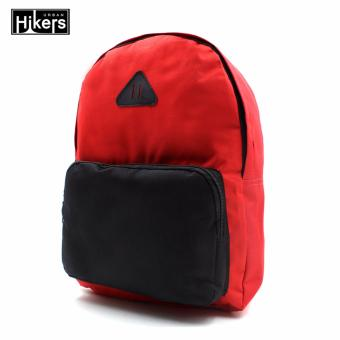 Urban Hikers Halsey Casual Backpack (Red/Black)