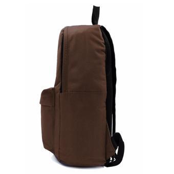 Urban Hikers Lash Tab Casual Backpack (Plain Brown) - 3
