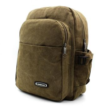 Urban Hikers Leonardo Casual Daypack Backpack (Light Brown)