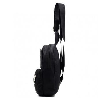 Urban Hikers Ryker Cross Body Backpack (Black) - picture 2