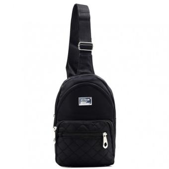 Urban Hikers Ryker Cross Body Backpack (Black)