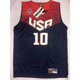 USA 10 Irving jersey adult nblue