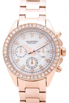 Valentino Women's Watch 20121662 (Rose Gold/Mother of Pearl)