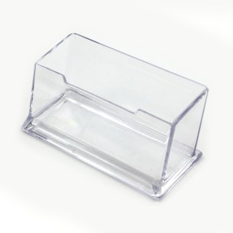 Price transparent acrylic storage box holder business card box 2 vanker practical transparent cuboid acrylic desktop business cardholder display box colourmoves