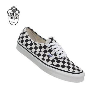 Vans Authentic 44 DX (Anaheim Factory) Lifestyle Shoes Black / Checkerboard vn0a38enoak -SH - 5