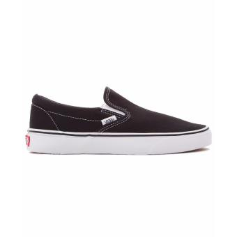 Vans Classic Slip On Black/White Canvas