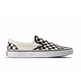 Vans Classic Slip On Checkerboard Black/ White