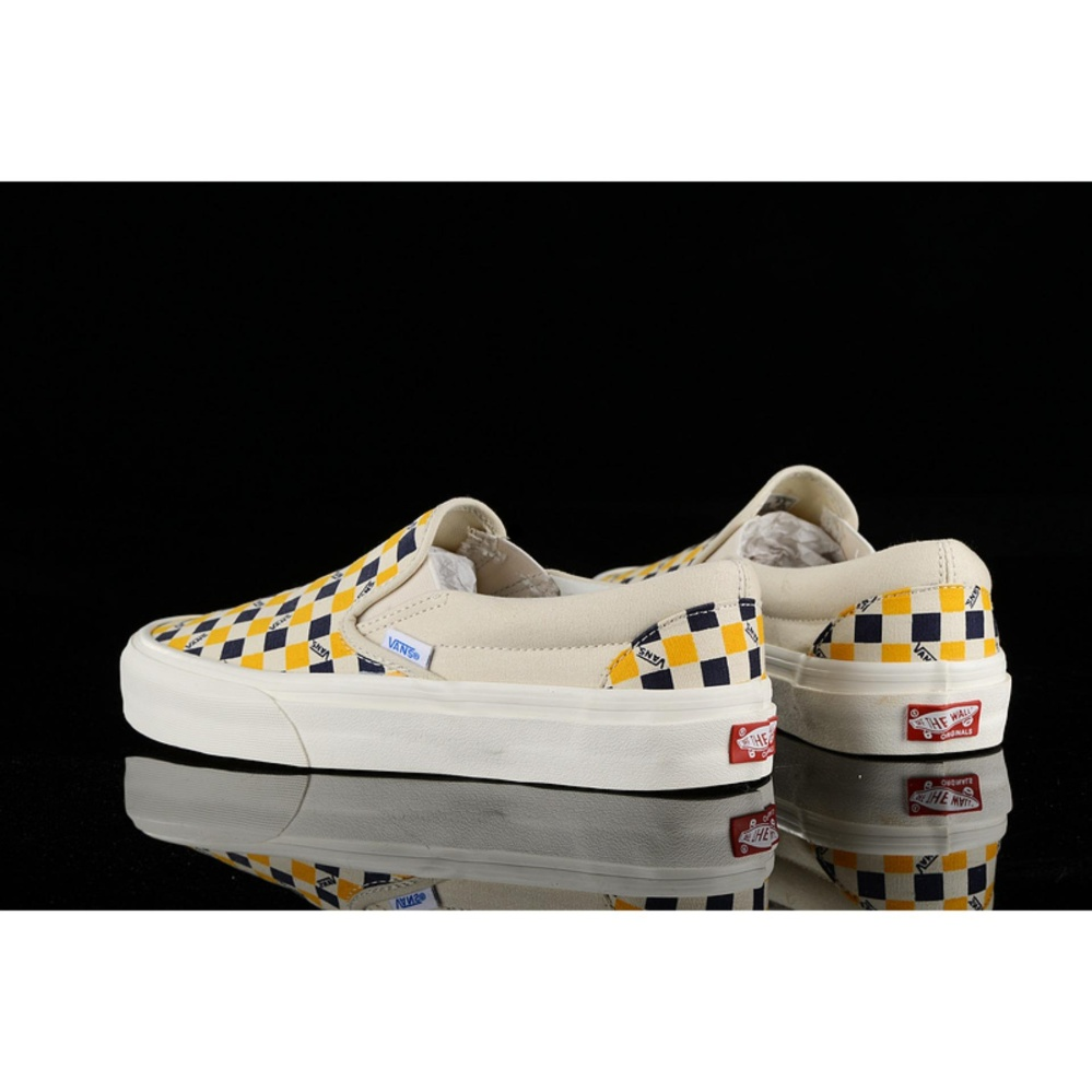 vans classic slip on checkerboard philippines