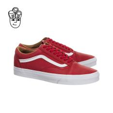 3686e6e37723 Vans Old Skool (Premium Leather)(Racing Red   True White) vn0a38g1mrv -