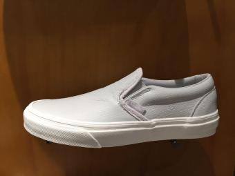 VANS WOMEN CLASSIC SLIP-ON SHOE GLACIER GRAY VN0A38F7MU0 US5.5-8.502'