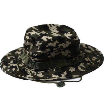 Velishy Brim Military Sun Hat