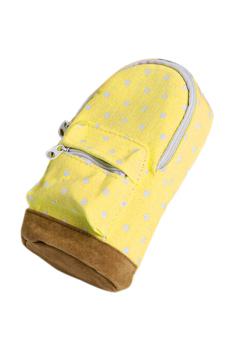 Velishy School bag Pencil Case (Yellow)