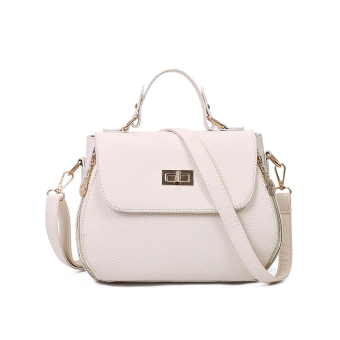 Versatile summer shoulder bag New style women's bag (Off-white color)