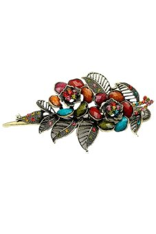 Vintage Rose Hairpin (Multicolor)