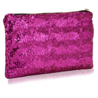 Vococal Bling Sequins Purse (Rose)
