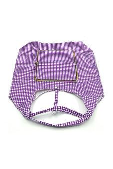 Vococal Waterproof Folding Shopping Bag (Purple)