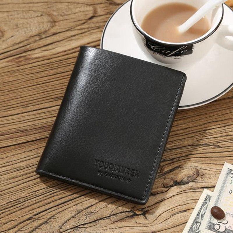 3a8eb19167b2 ... Wallet men genuine leather men wallets purse short male clutchleather wallet  mens Baellerry brand money bag ...