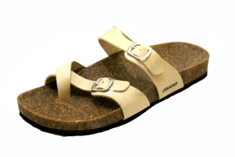 Walton Flat Sandals AM014003 (beige)