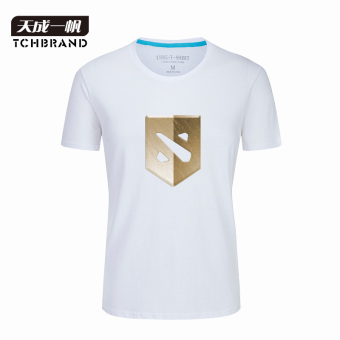 Warrior dota2 tournament-like T-shirt (White 2)