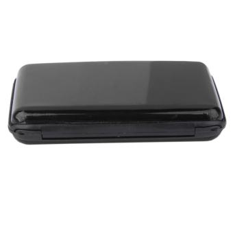 Waterproof Aluminum Metal Case Business ID Credit Card Holder Black - Intl