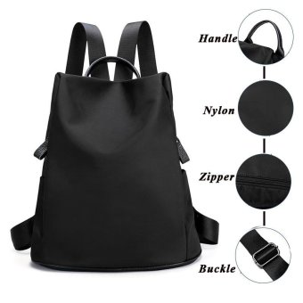 Waterproof Oxford Backpack for Women Bag - intl