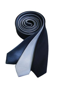 Well Suited Plain Slim Necktie Combo 3
