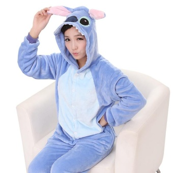 Wholesale Animal Stitch Unicorn Panda Bear Koala Pikachu Adult Unisex Cosplay Costume Pajamas Sleepwear For Men Women BIG Children Pajamas o2 - intl