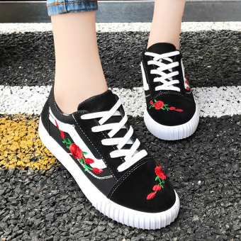 Wild female New style shoes Shoes (Black)