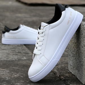 Wild leather autumn New style men shoes Shoes (8128 white and black)