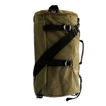 William's Backpack/Sling Unisex Canvas Bag (Green)