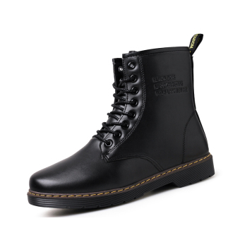 Winter Keep Warm Martin Boots Shoes for Men - intl