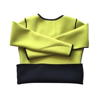 Women & Men Body Shaper Long Sleeve Slimming Neoprene Hot Sweat Shirt for Weight Loss Best Wear in Gym/Fitness/Running/Yoga/Zumba - intl - 2