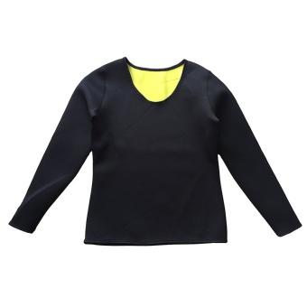Women & Men Body Shaper Long Sleeve Slimming Neoprene Hot Sweat Shirt for Weight Loss Best Wear in Gym/Fitness/Running/Yoga/Zumba - intl - 4